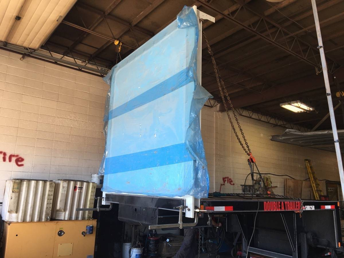 Curtain Side Installation on Semi-Trailer from Start to Finish